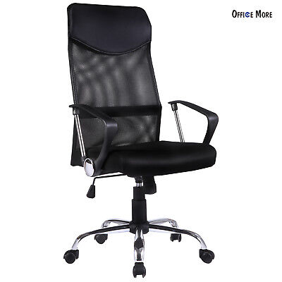 Black Ergonomic Mesh High Back Executive Computer Desk Task Office Chair