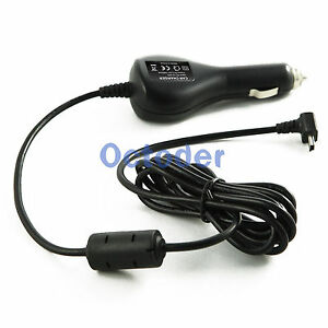 Car-Vehicle-Power-Charger-Adapter-Cord-Cable-For-Garmin-GPS-Nuvi-255-260-270W-1A