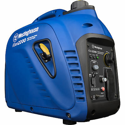 Refurbished Westinghouse Igen2200 Gasoline Powered Inverter Generator