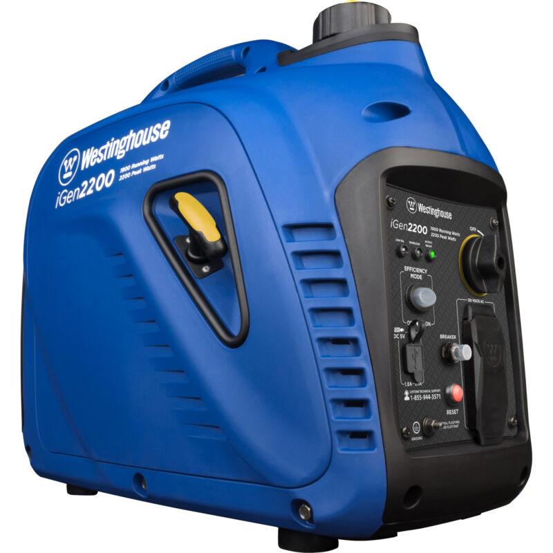 Refurbished Westinghouse iGen2200 Gasoline Powered Inverter Generator