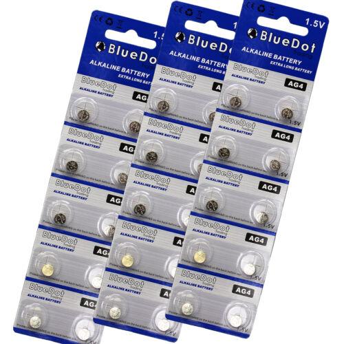 30 AG4 377 377A LR626 SR66 1.5 Volt Alkaline Button Cell Watch Battery USA SHIP