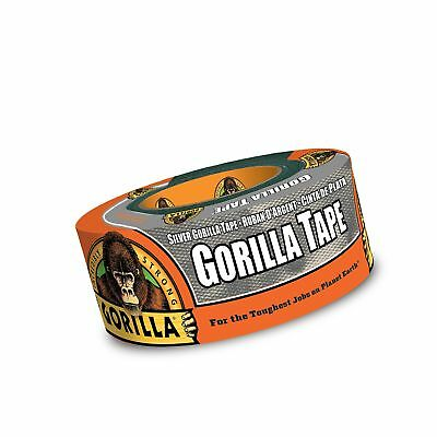 Gorilla Tape Silver Duct Tape 1.88 X 12 Yd Silver Pack Of 1 Pack Of 1