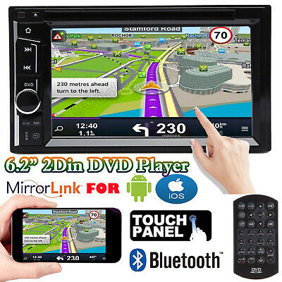 For Ford F-150 F-250 F-350 Super Duty 2Din 6.2'' Car Stereo DVD CD Radio Player