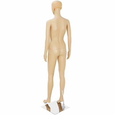 Durable Female Mannequin Realistic Display Dress Full Body Form Show Model