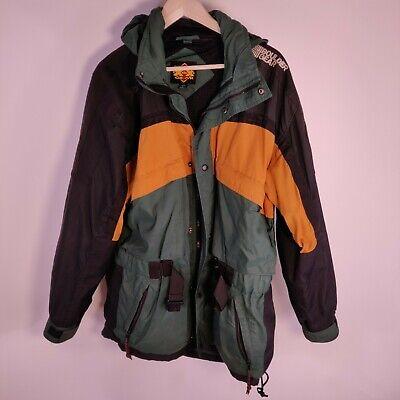 BOULDER GEAR snowboard jacket lite winter ski coat vented rain UNISEX L Men's L