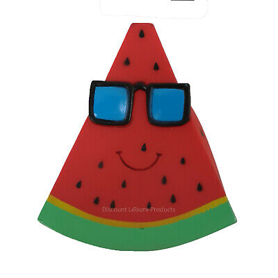 Good Boy Watermelon Slice Dog Toy Squeaky Pet Play Fetch