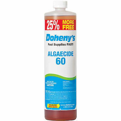 Doheny's Concentrated Algaecide 60 - 40 oz Bottle