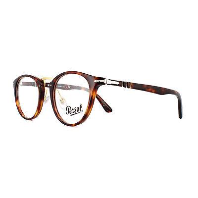 Persol Glasses Frames 3107V 24 Havana 47mm Mens