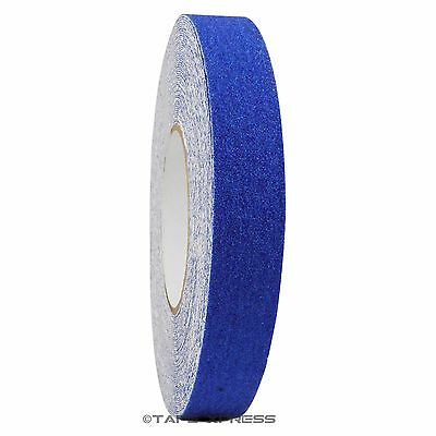1 X 60 Dark Blue Non Skid Adhesive Tape 60 Grit Grip Anti Slip Traction Safety