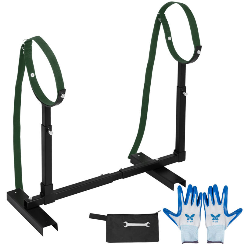 Fully Adjustable Grooming Breeding Stand W/ Collars Stainless Steel trim nails
