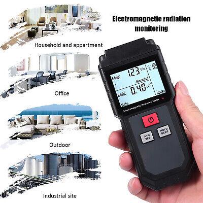 Lcd Electromagnetic Field Radiation Detector Emf Meter W Anti Radiation Shield