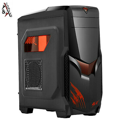 ComSys RX-0622 günstige Gaming Midi Tower PC ATX Gehäuse Gamer Case USB 3.0 #2