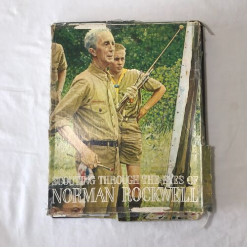 Scouting Through the Eyes of Norman Rockwell COMPLETE SET (44) #2768 Prints EUC