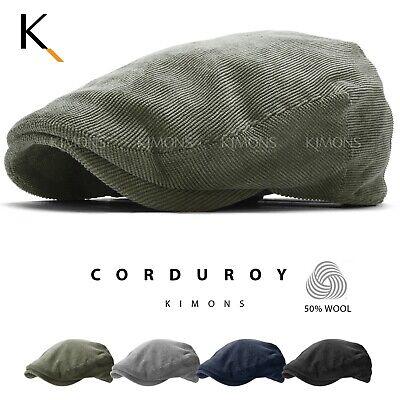 Wool Corduroy Gatsby Cap Ivy Hat Golf Driving Winter Sun Flat Cabbie Newsboy New Corduroy Newsboy Cap