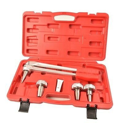 """IWISS Expander Tool Kit with 3/4""""1/2""""1"""" Expansion Heads for Propex Wirsbo Uponor"""