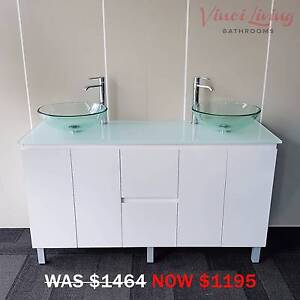 Affordable Bathroom Vanities Cabinets Taps Basins SALE NOW ON! Underwood Logan Area Preview