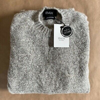 HOWLIN by Morrison ~ Shaggy Bear sweater ~ grey NEW with tags