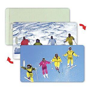 Ski-Skiers-Luggage-Bag-Travel-Tag-Lenticular-Animation-All-Weather-LT04-209