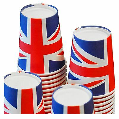 Pack Of 8 pieces Union Jack Great Britain Paper Cups  Party Supply