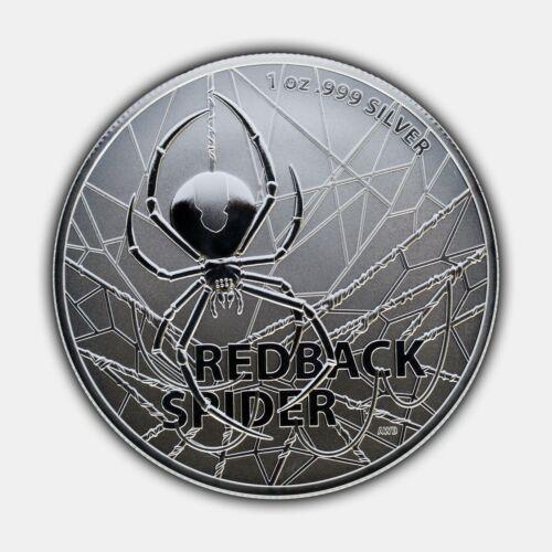 REDBACK SPIDER - 2020 1 oz Pure Silver Bullion Coin - Royal Australian Mint