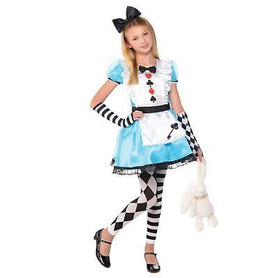 Mädchen Kind Kinder Alice Im Wunderland Verkleidung Buchwoche Prinzessin