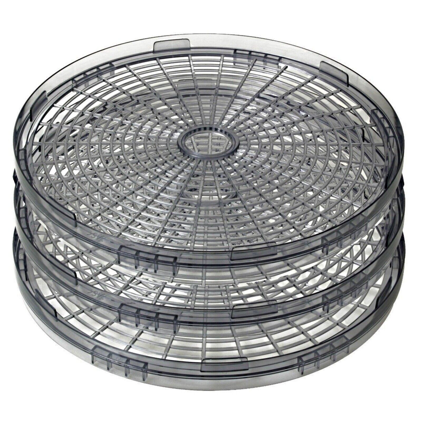 "3x Magic Chef Dehydrator 469-1 LD-1010 Add-On Tray 13"" Stack"