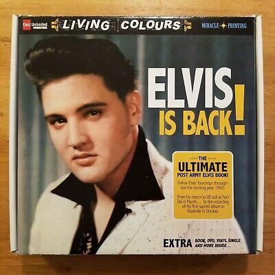 ELVIS PRESLEY Elvis Is Back! *Limited Edition* Ultimate Post Army w/ Book & DVD* comprar usado  Enviando para Brazil