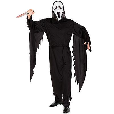 Herrenkostüm schreiender Geist Helloween Kostüm Fasching Karneval Horror - Herr Männer Kostüm