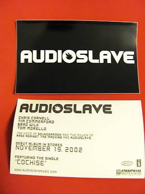 Audioslave Cornell Rage Against Helmet Board Sticker
