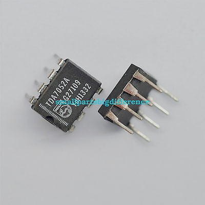 2pcs Tda7052a Dip-8 Ics New Original