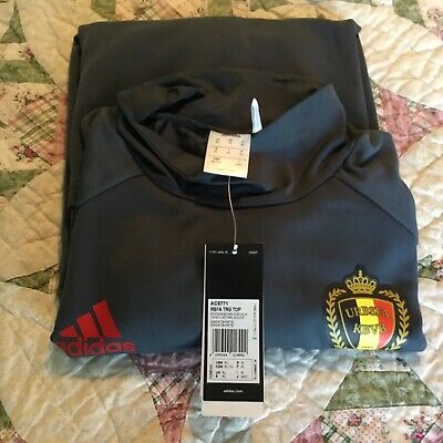 2d3f3ce6a Belgium national soccer team long sleeve Trainging jersey NWT XL