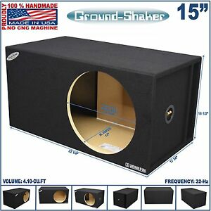 15 single vented slot ported sub box tuned 32 hz for L ported box calculator