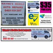 Wayne's mobile auto repairs, rego checks at workshop. Marulan Goulburn City Preview