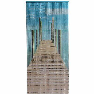 Pier Design Bamboo Door Curtain, Wall Art, Reversible - 90 x 200 cm