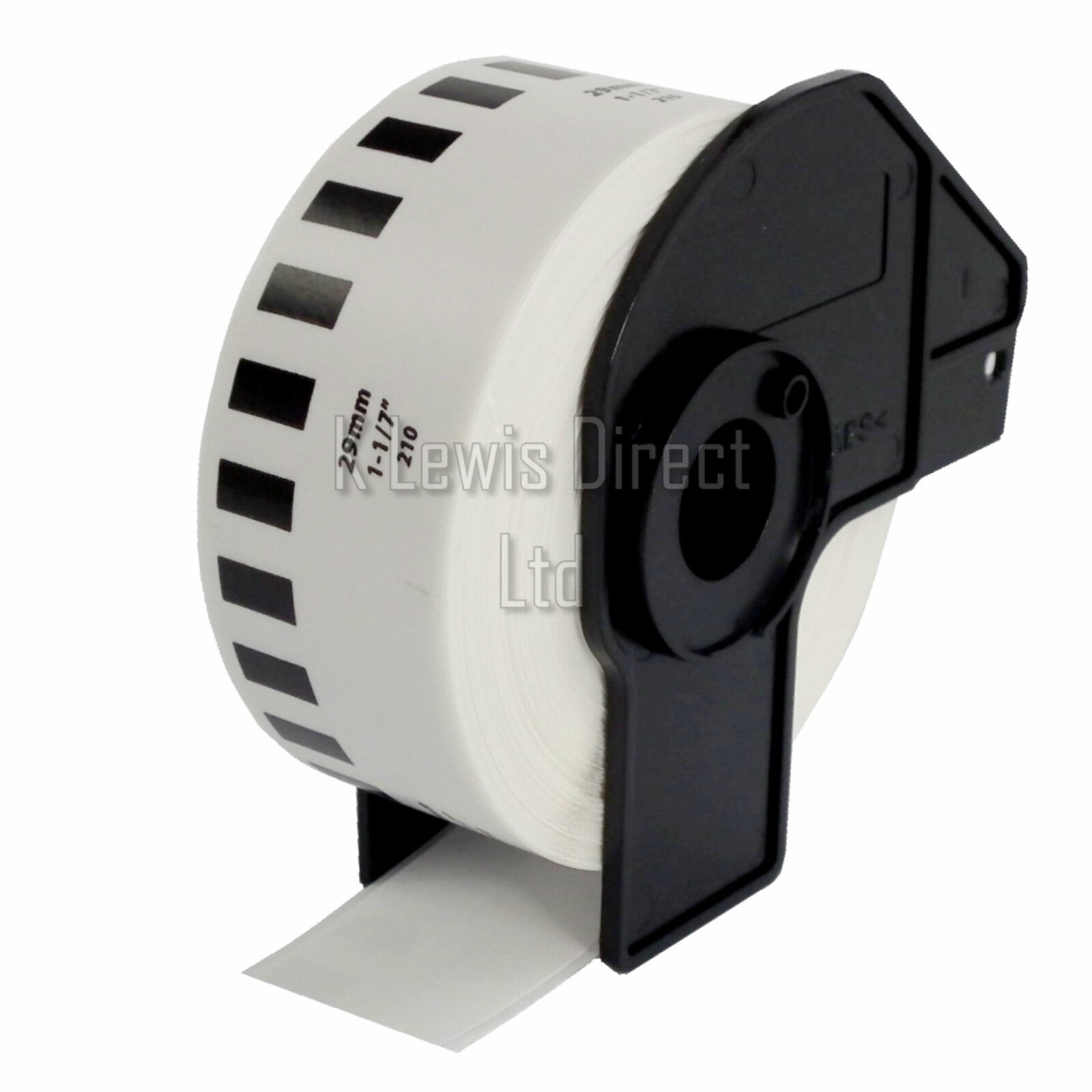 brother label printer templates - 5x brother compatible dk22205 printer labels 62mm roll
