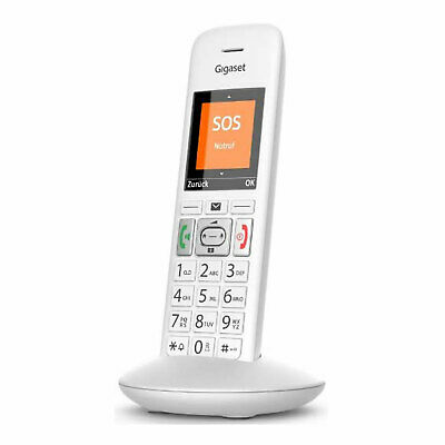 Gigaset E 370 HX Schnurloses Telefon weiß