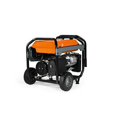 Generac Gp6500 Generator Portable Manual Start Gas Powered Co-sense Power Rush