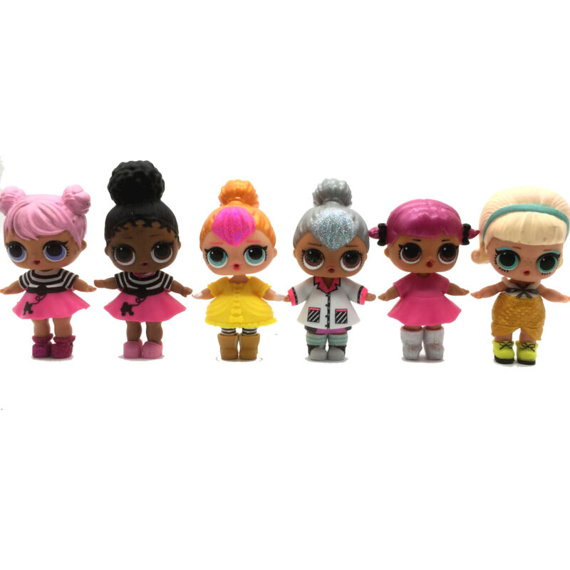 2x Lil punk boi boy /& Lil KITTY QUEEN /& shoes LOL Surprise Dolls Lil sisters toy