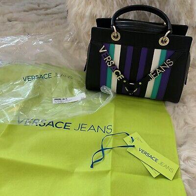 Black Versace Jeans Handbag