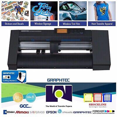 15 40cmgraphtec Ce7000-40 Vinyl Cutterplotter 2 Yeas Warranty Free Shipping
