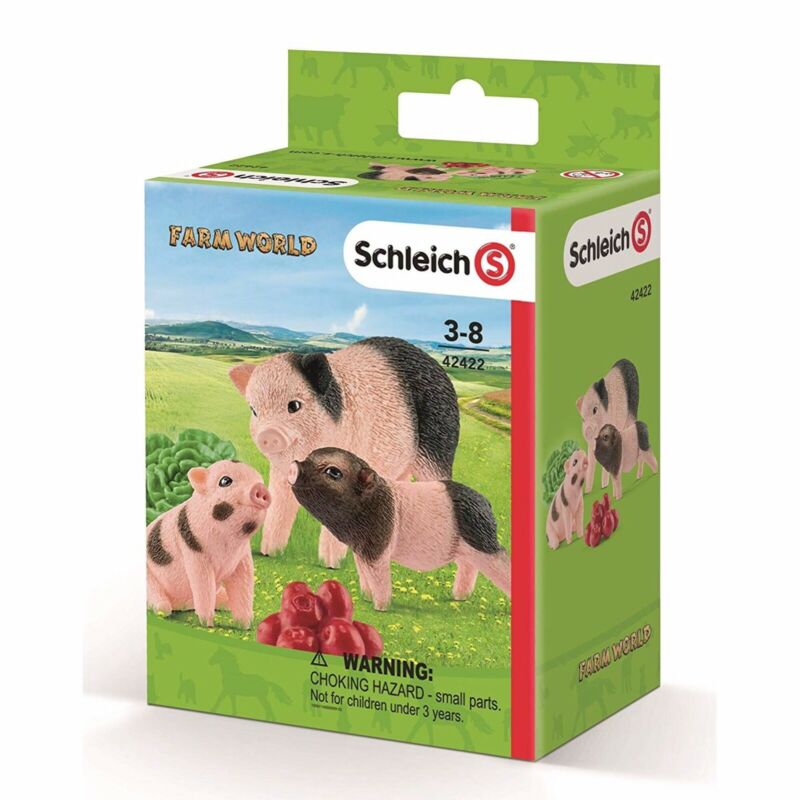Miniature pig and piglets set 42422 Schleich Anywhere