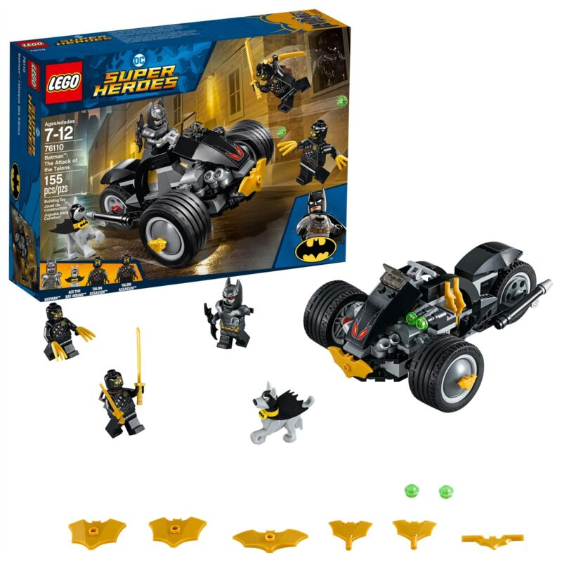 LEGO® DC Super Heroes - Batman™: The Attack of the Talons 76110 155 Pcs