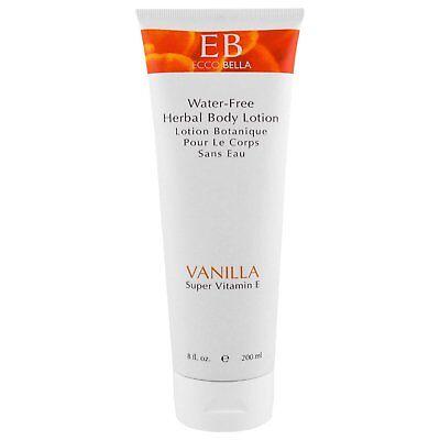 (Ecco Bella Herbal Body Lotion Ultra Rich Vitamin E Formula Vanilla 8 oz)