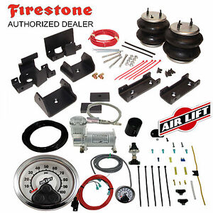 Firestone Ride Rite Air Bags & AirLift Air Compressor for Dodge Ram 2500 3500