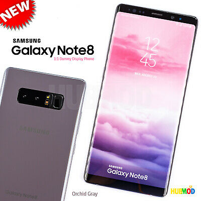 Orchid Gray SAMSUNG GALAXY NOTE 8 Dummy Toy Cell Phone 1:1 Non-Working Fake NEW