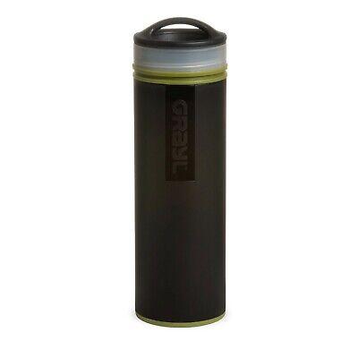 Grayl Water Purifier Ultralight Compact 16oz Bottle Camo Bla