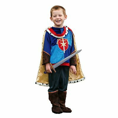 Kinder Königsblau Prince Charming Kostüm Jungen Märchen Buch Woche Tag Kostüm ()