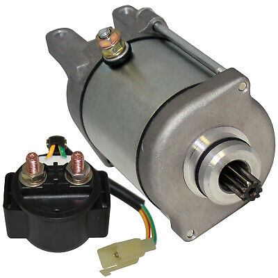 Starter And Relay Solenoid for Bombardier Can-Am Ds250 Ds 250 2006-2017