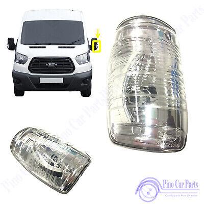 Front LH Door Wing Mirror Indicator Lamp Light Lens Ford Transit MK7 MK8 1847387