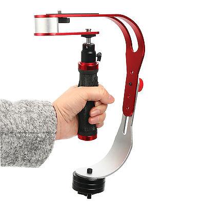 Camera Stabilizer Video Steady Cam Handheld for Camcorder DSLR w. Phone Holder